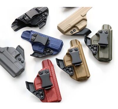 Fits Glock 26 / 27 -Kydex IWB holster with adjustable Ride Hight and Cant + CLAW