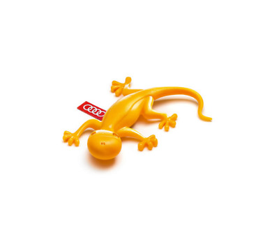 Genuine Audi Yellow Gecko Tropical Fruit Car Vent Air Freshener - 000087009C