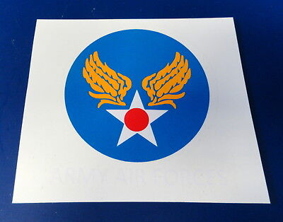 Army Air Forces Flight Jacket Shoulder Decal
