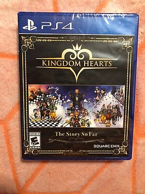 Kingdom Hearts: The Story So Far Sony PlayStation 4 PS4 Game KH Brand New Sealed
