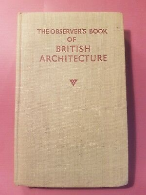 Vintage Observer's Book of British Architecture #13 First Edition? 1953