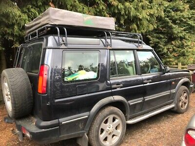 Land RoverDiscovery ES Premium with rack and roof tent. Spares or repair.
