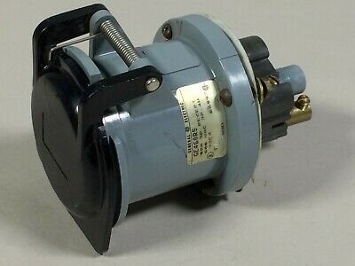 General Electric GE460R5 60A 600VAC 3 Pole, 4 Wire Receptacle