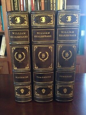 Shakespeare Heritage Press Histories Comedies Tragedies Fine Leather Binding