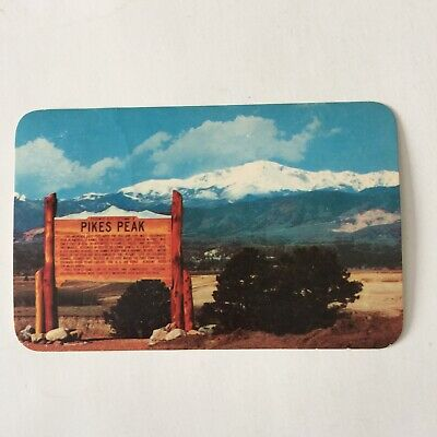 Pikes Peak US Air Force Academy Posted Postcard