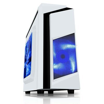 ULTRA FAST Quad Core Gaming PC Tower 8GB RAM 1TB HDD + 2GB Graphics Win 10 WiFi