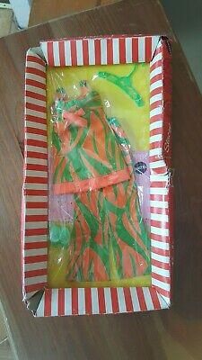 SEALED 1969 Mattel Barbie w/ P.J & Stacey Doll #3402 Two Way Tiger Print Outfit