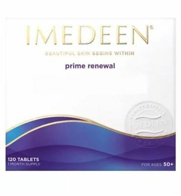 IMEDEEN Prime Renewal 120 Tablets 1 Months Supply for Ages 50+ EXP- 01/2020