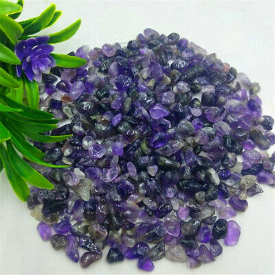 Amethyst Ore Crushed Gravel Stone Chunk Lots Degaussing Discover Reiki Healing