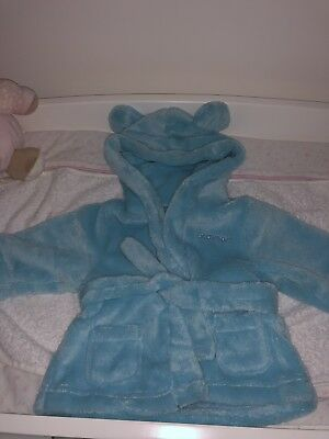 Baby Boy Personalised Dressing Gown (Grayson)
