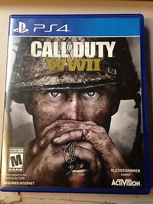 Call of Duty WWII Sony PlayStation 4 PS4 GAME WW II WORLD WAR 2 WW2 Complete
