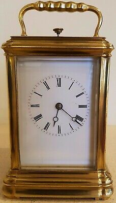 Repeater Carriage Clock Gorge case with numbered key.
