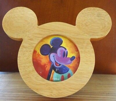 New Disney Mickey Mouse Wooden Photo Frame