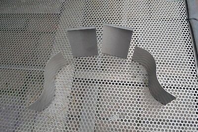4 Stainless Steel grade 304 2 bend it Mold and 2 s waves Glass Fusing Kiln Mould