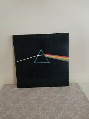 Pink Floyd Dark Side Of The Moon L P Original 1973 Gatefold Harvest Label VG+