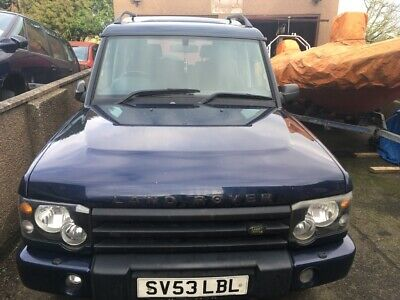 Land Rover discovery 2 , 53 plate  spares or repair
