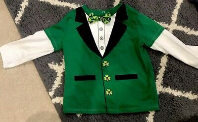 St Patricks Day Shirt Toddler 12-18 Month