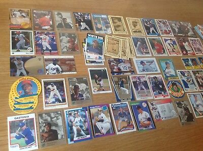 Vintage Job Lot Of MLB Baseball TRADING CARDS Over 500 cards