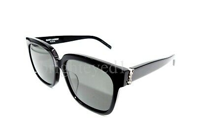 448de5fee41 AUTHENTIC YVES SAINT LAURENT Black Sunglasses SL M40/F-003 *NEW ...