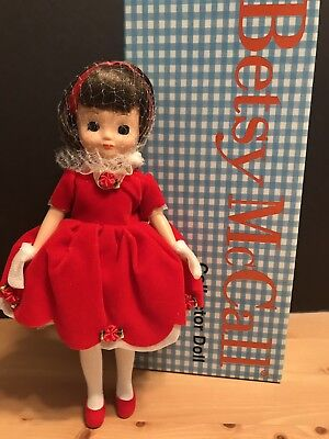 "Tiny Betsy McCall Has a Happy Holiday Doll, 8""  Robert Tonner, Christmas"