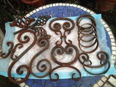 Antique Vintage Cast Iron Pieces