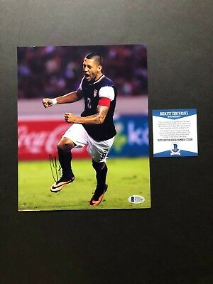 3f3d1eb57 Clint Dempsey Hot! signed autographed USA soccer 8x10 photo Beckett BAS coa