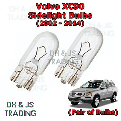 Smart Forfour 100w Super White Xenon HID Low Dip//LED Trade Side Light Bulbs Set
