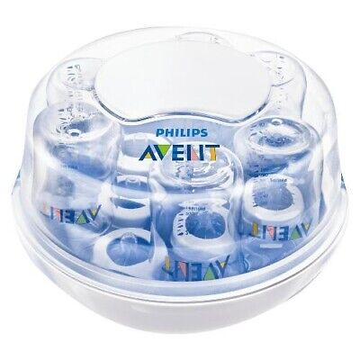 Phillips Avent Microwave Steam SterilizerBottle not includeds