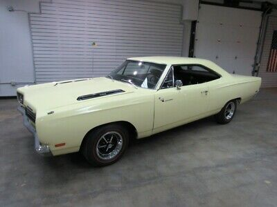 1969 Road Runner -- 1969 Plymouth Road Runner  1,850 Miles Yellow  383CI Automatic