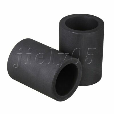 2pcs Multi-attribute Save Energy High Purity Graphite Crucible Torch Melting