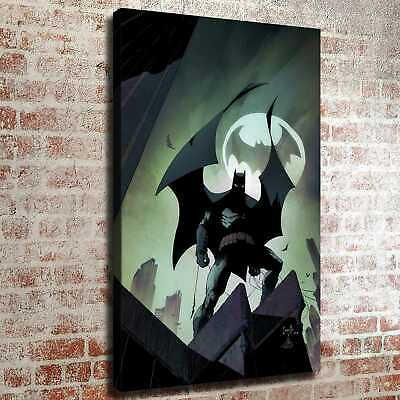 Batman and buildings HD Canvas prints Painting Home decor Room Wall art Picture
