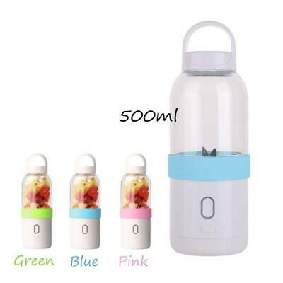 500ml Portable USB Electric Juicer Cup Smoothie Maker Bottle Rechargeable Gift