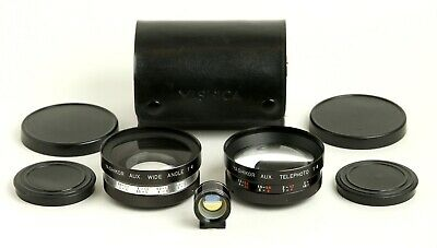 Yashikor Aux Wide Angle + Telephoto Lens Set For Electro 35 Yashica