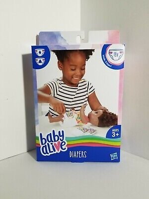 Baby Alive Disposable Diapers Replacement 18 pack babyalive diaper hasbro refill
