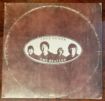 The Beatles - Love Songs Double Vinyl Record Album - Capitol SKBL-11711