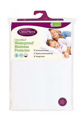 Clevamama Waterproof Mattress Protector Double (135x190 cm) - Non...