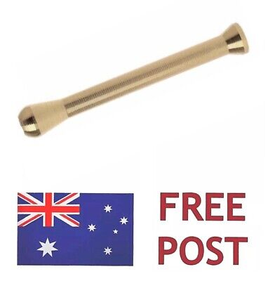 1 x GOLD Metal Snuff Sniffer Snorter Straw Nasal Tube Snuffer - FREE POST