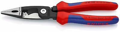 KNIPEX 13 82 200 – pliers for electrical installation with 6 functions, 200 mm