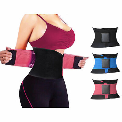 Unisex Xtreme Power Belt Hot Slimming Thermo Shaper Waist Trainer Faja Sport USA