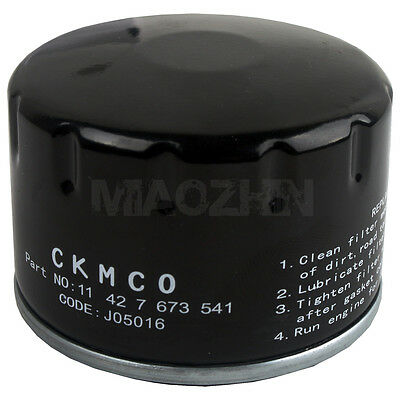 Motorcycle Oil Filter For Piaggio Scooter 400 X-Evo 400-X8 500-X10 500-X9 NEW