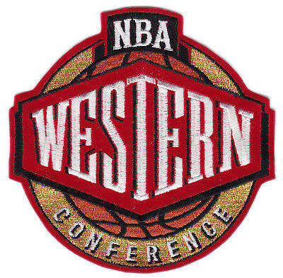 "Nba National Basketball Association Western Conference 5.25"" League Logo Patch"