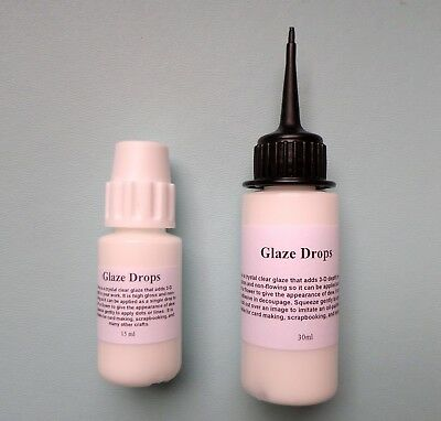 NEW ~ AIR DRY GLAZE VARNISH for REBORN LIPS,NAILS ~ 15ml & 30ml sizes