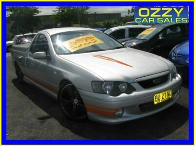 2004 Ford Falcon BA XR8 Silver Automatic 4sp A Utility