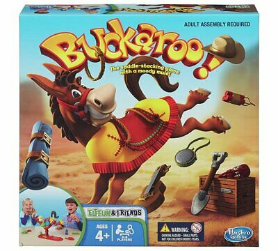 Elefun & Friends Buckaroo Game from Hasbro Gaming Base And Plastic Game Pieces