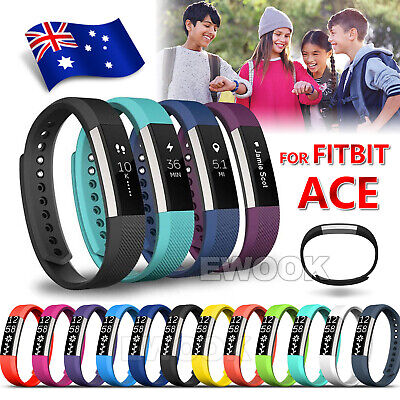 Replacement Silicone Gel Band Strap Bracelet Wristband for FITBIT ACE Children