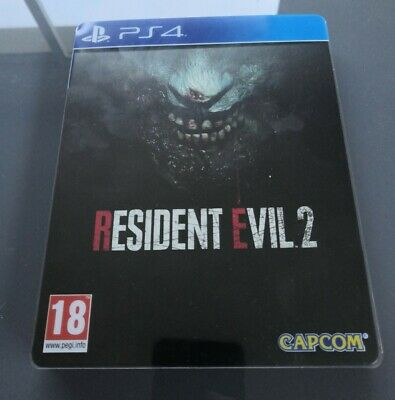 Resident Evil 2 - Jeu Sony PlayStation Ps4 - Edition Steelbook Fr