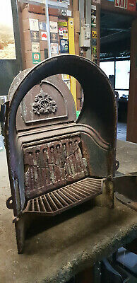 Cast Iron Victorian Fire Place Insert
