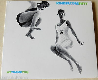 Kindercore Fifty - We Thank You (CD 2000) 3 CDs Japancakes,The Real Tuesday Weld