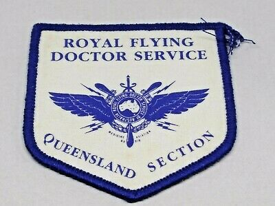 Collectable Royal Flying Doctor Service Queensland Patch / Badge