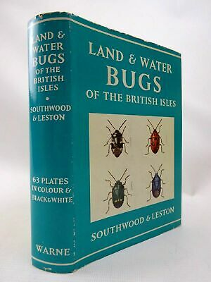 LAND AND WATER BUGS OF THE BRITISH ISLES - Southwood, T.R.E. & Leston, Dennis. I